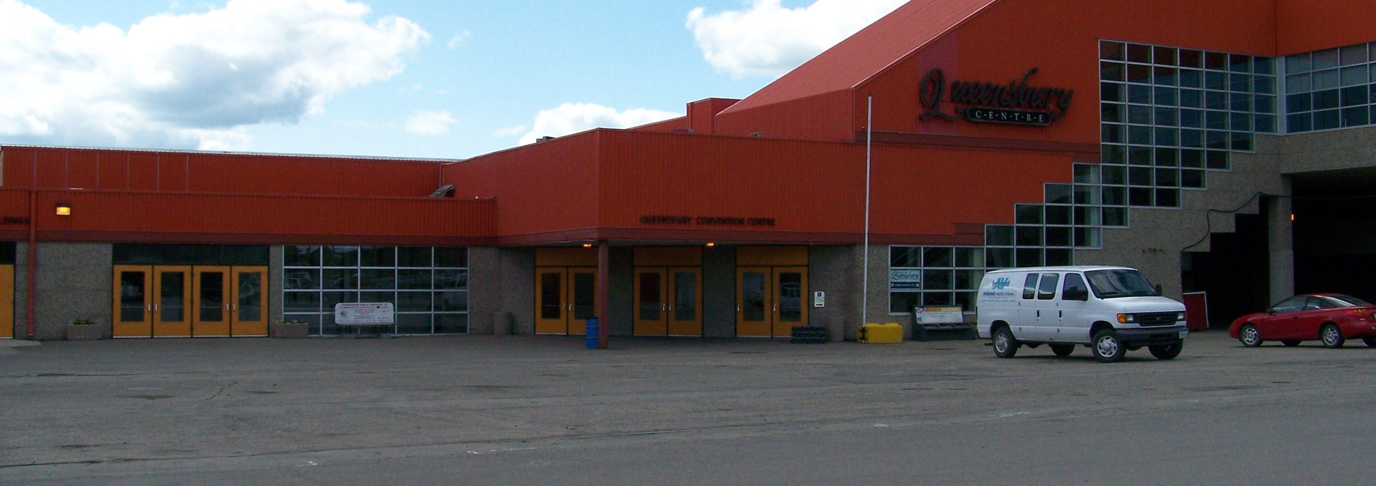 Evraz Place Outside